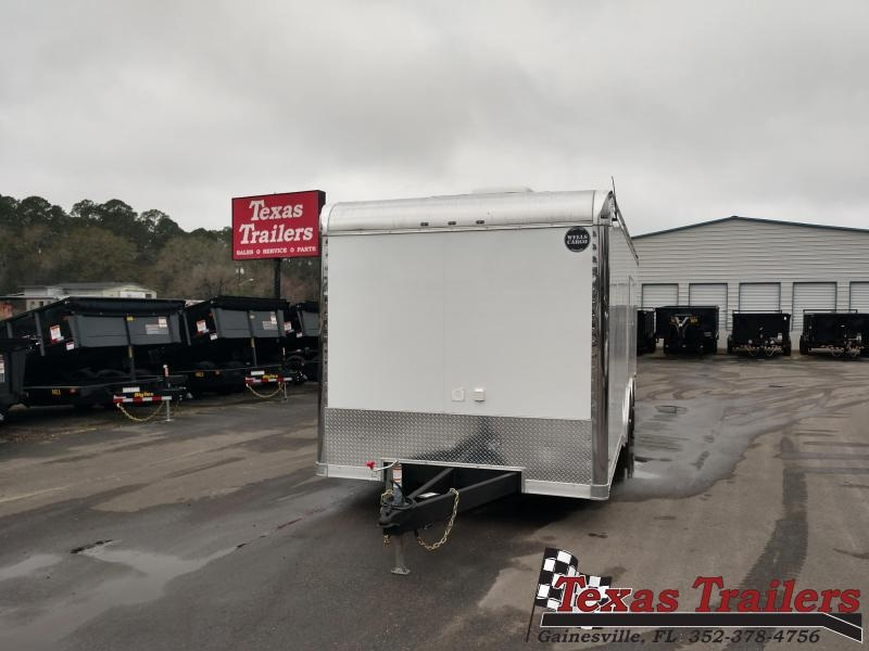 2020 Wells Cargo MT8524T3 Enclosed Cargo Trailer