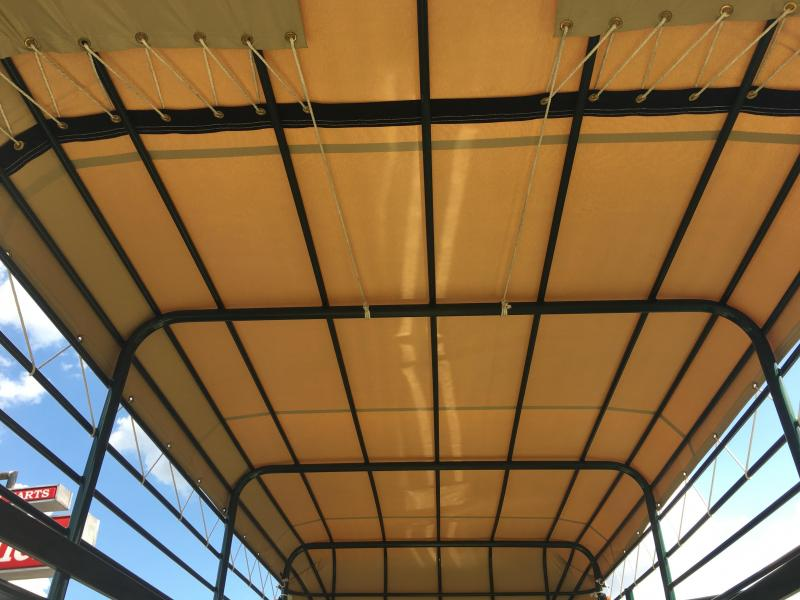 ST1410B TEXAS TRAILERS 14' BUMPER PULL STOCK TRAILER