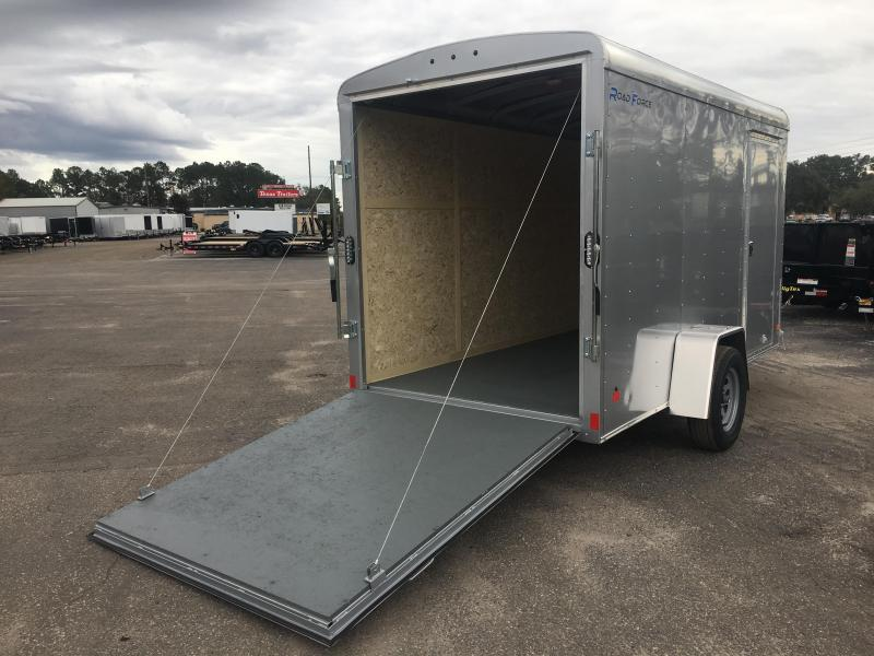 RF6X121 WELLS CARGO 6X12 ROAD FORCE ENCLOSED CARGO TRAILER W/ UPGRADED HEIGHT