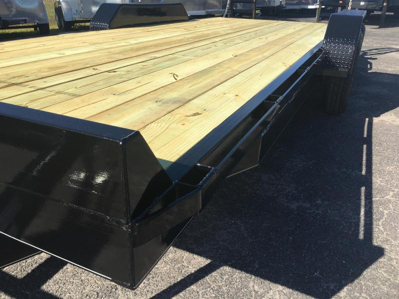 EQ2014B TEXAS TRAILERS 20' 14000# EQUIPMENT TRAILER