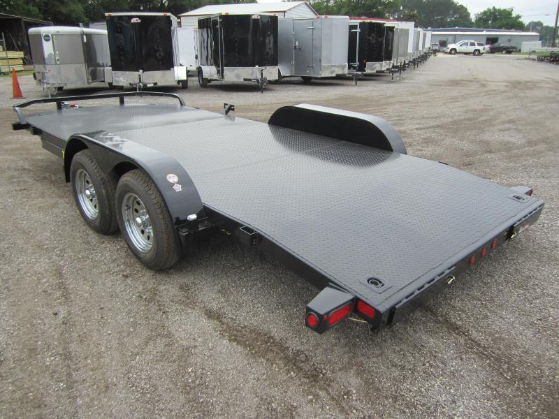 70DM-20BK BIG TEX 20' STEEL DECK CAR HAULER