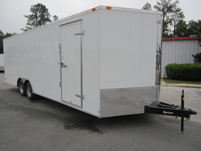 GANS8524TA3 CARGO MATE 8.5 X 24 ENCLOSED CAR HAULER W/ 5200# AXLES