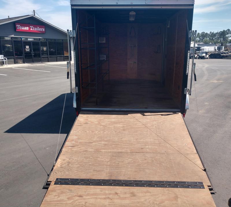2015 Pace American JV712TA2 Enclosed Cargo Trailer