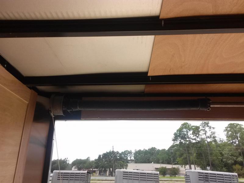 GANS8524TA3 CARGO MATE 8.5 X 24 ENCLOSED CAR HAULER W/ 5200# AXLES