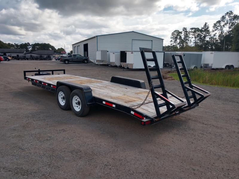 2013 Texas Trailers EQ2414B Equipment Trailer 24 Ft 7K Axles