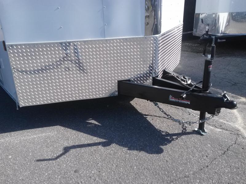 GANS8520TA2 CARGO MATE 8.5 X 20 ENCLOSED CAR HAULER W/ 3500# AXLES