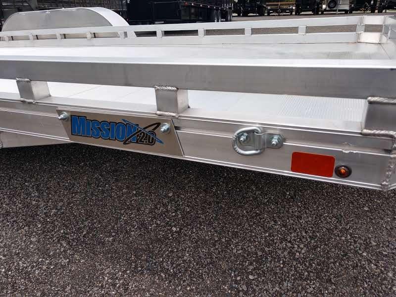 MU6.5X18FATA2.0 MISSION 6.5 X 18' ALUMINUM UTILITY TRAILER W/ RAMP GATE