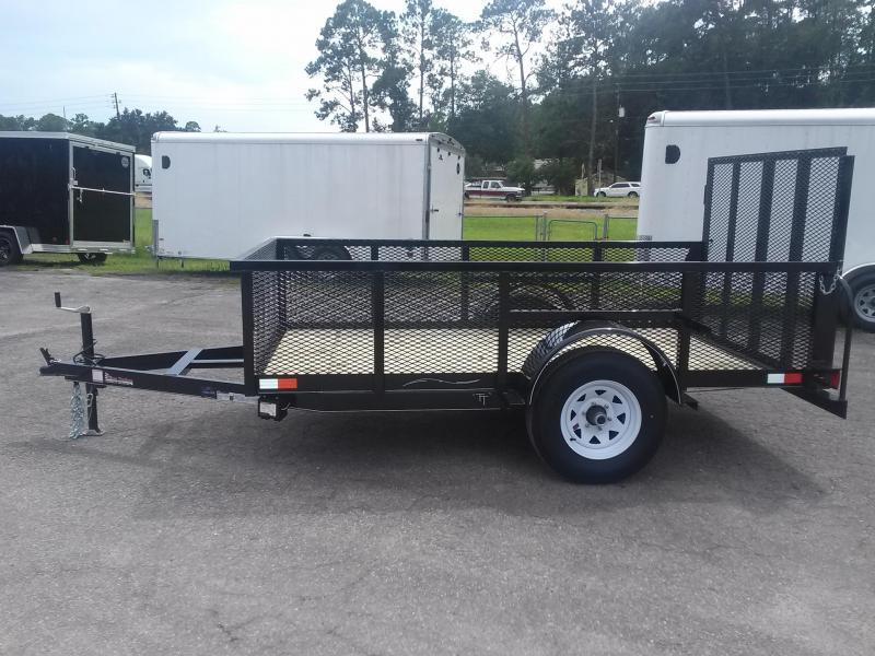 Lm51035 Texas Trailers 5x10 Lawn Maintenance Trailer