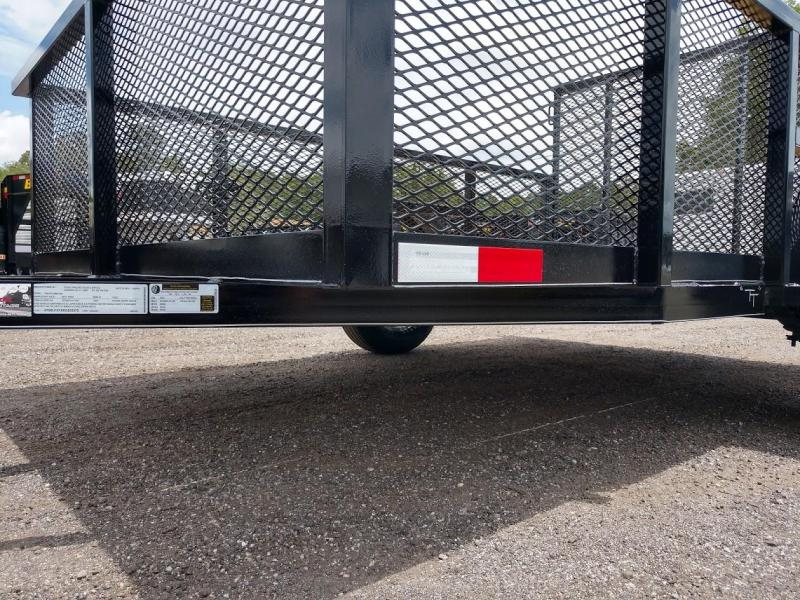 "LM61035 TEXAS TRAILERS 6'4"" X 10' LAWN MAINTENANCE TRAILER"