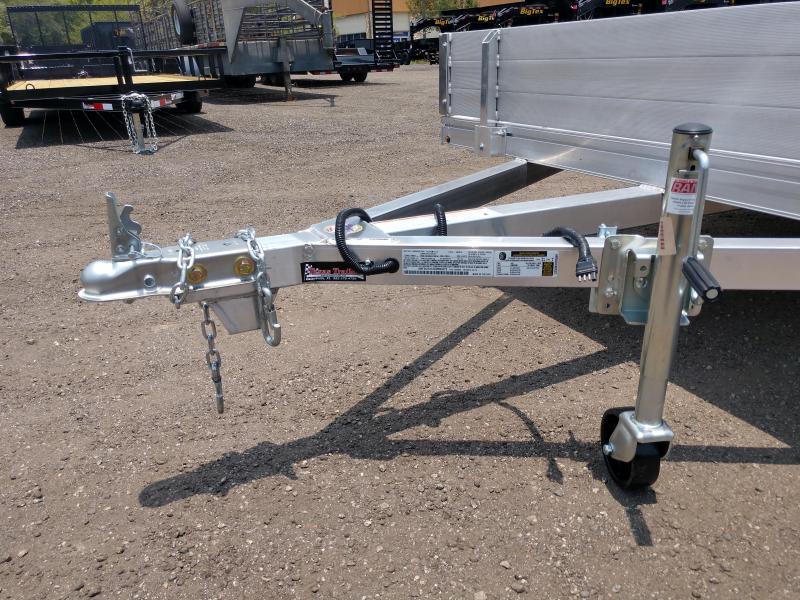 "MU80X12AR-2.0 MISSION 80"" X 12' ALUMINUM UTILITY TRAILER W/ BI-FOLD GATE"
