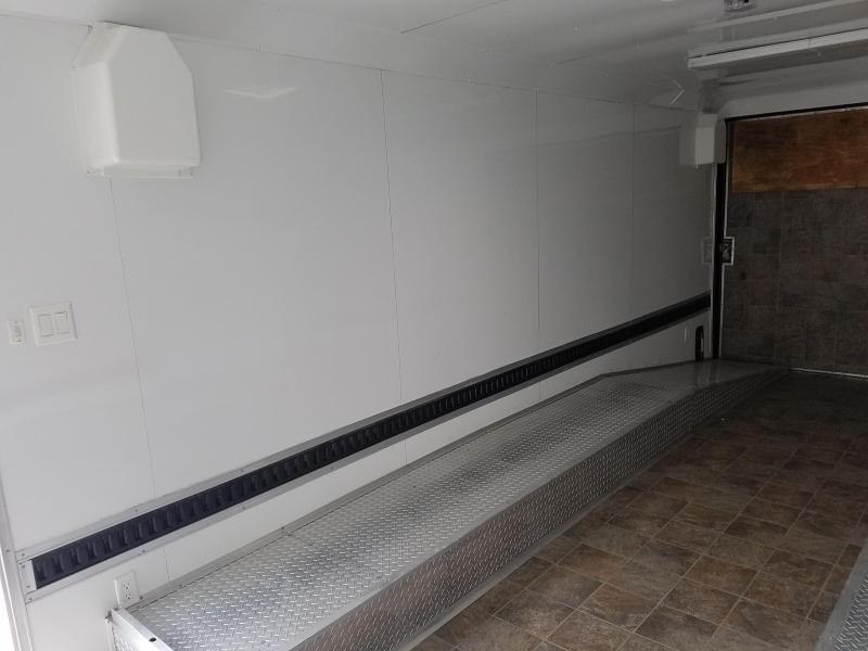 2013 Freedom Trailers Freedom 26' Race Car Hauler - with Aluminum drive over wheel well ramps & side escape door Car / Racing Trailer