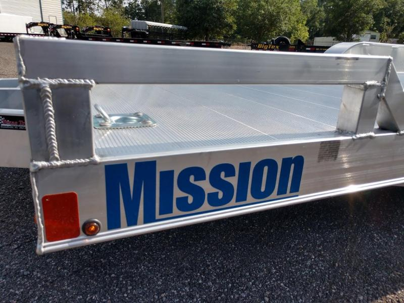 MOCH 8 X 20 MISSION 20' ALUMINUM CAR HAULER