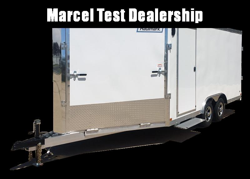 2020 Wells Cargo STM8528T3 Snowmobile Trailer