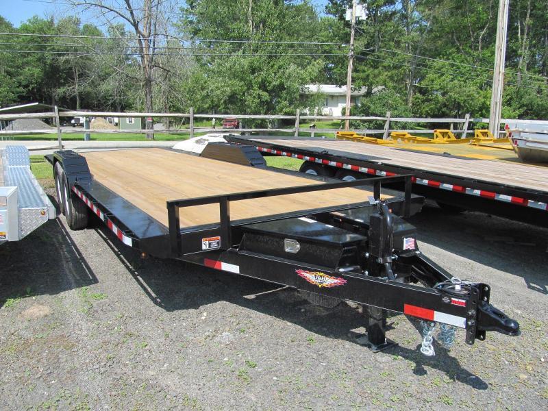 H and H Steel Speedloader 102 X 24 14K Equipment Trailer