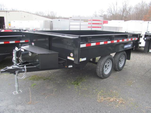 Sure-Trac 6 X 10 Standard Duty Deckover Dump Trailer