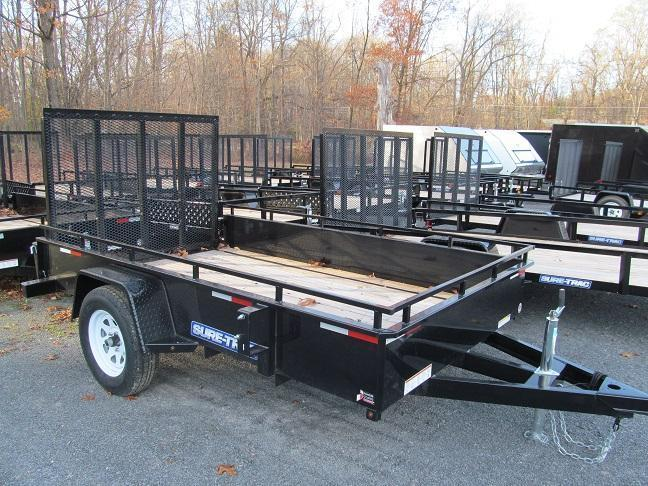 Sure-Trac 5 X 10 Steel High Side Utility Trailer
