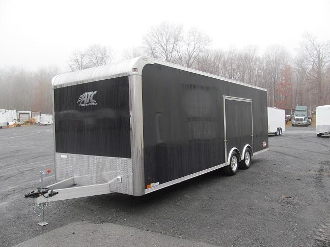 2019 Aluminum Trailer Company 8.5 X 24 Raven CH Plus w/ Premium Escape Door