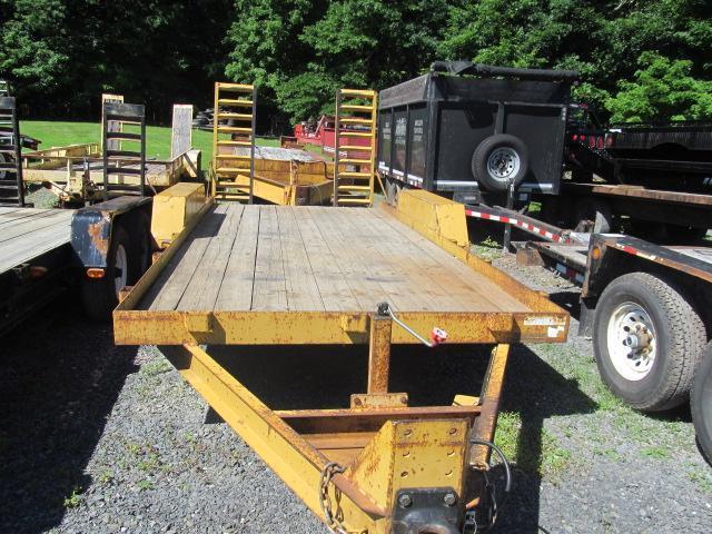 2007 Winston 7 Ton Skid Steer Equipment Trailer