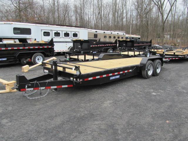 Sure-Trac Tilt Equipment 18 Plus 4 14K GVW Equipment Trailer