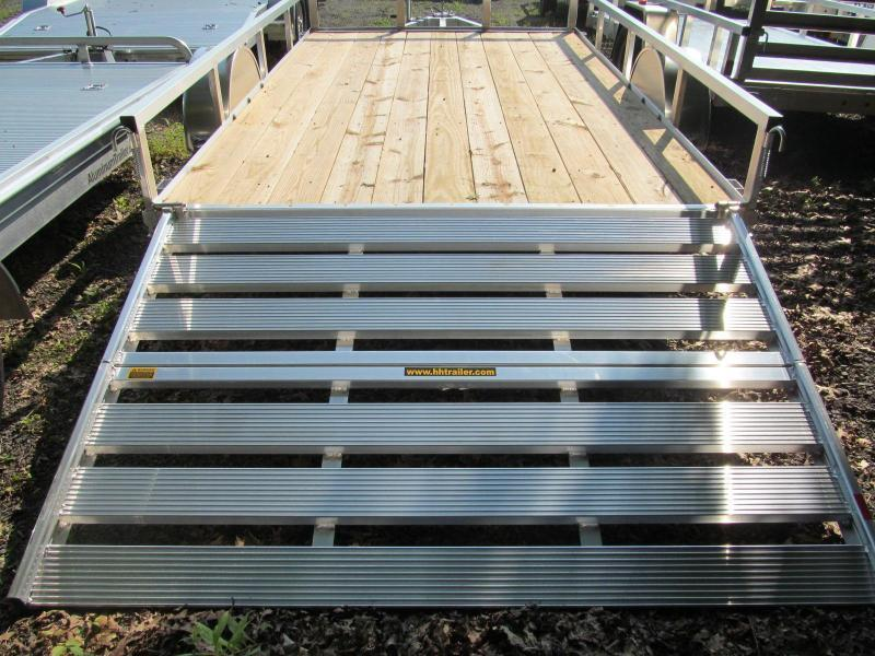 H and H Trailer 76 X 10 Utility Trailer
