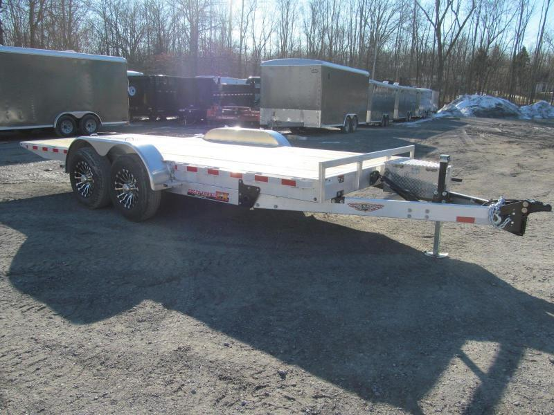 2019 H and H Aluminum Speedloader 80 X 22 Equipment Trailer