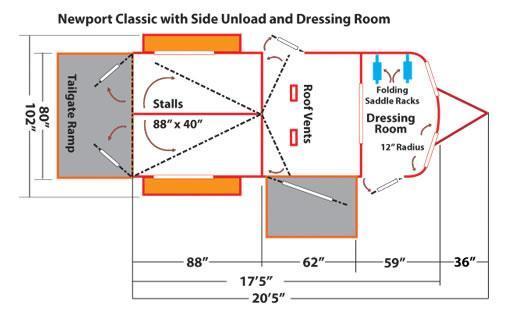 Kingston Newport Classic w/ Dressing Room