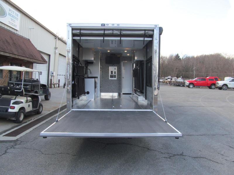 Aluminum Trailer Company 8.5 X 28 Toy Hauler