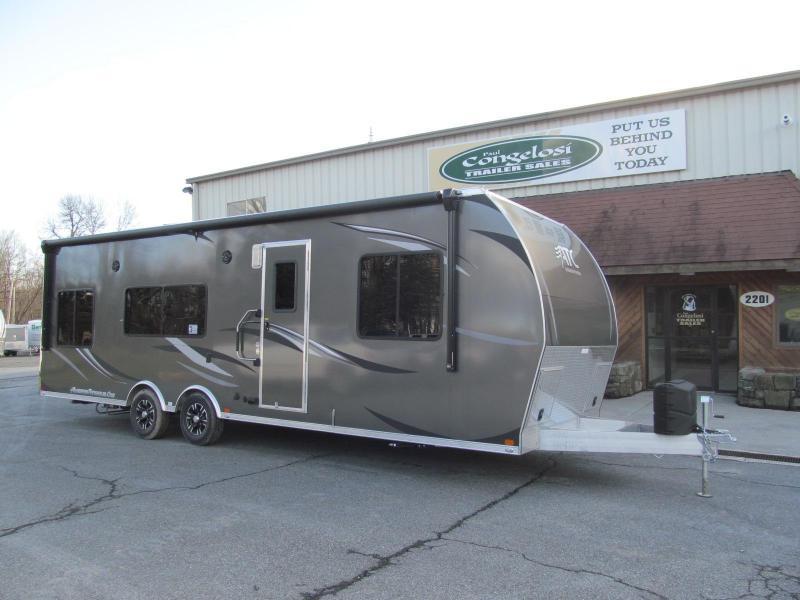 2019 Aluminum Trailer Company 8.5 X 28 Toy Hauler