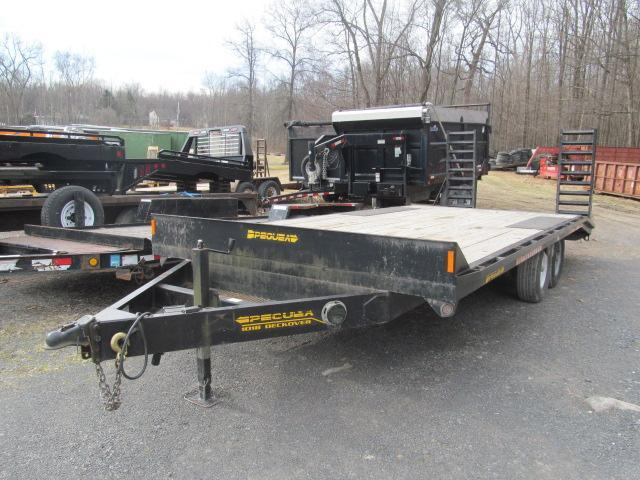 2005 Pequea 6 Ton Deckover Equipment Trailer