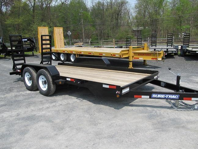 Sure-Trac Skid Steer Equipment Trailers