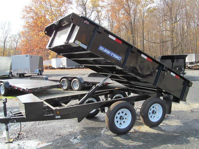 Sure-Trac Standard Duty Deckover Dump Trailer