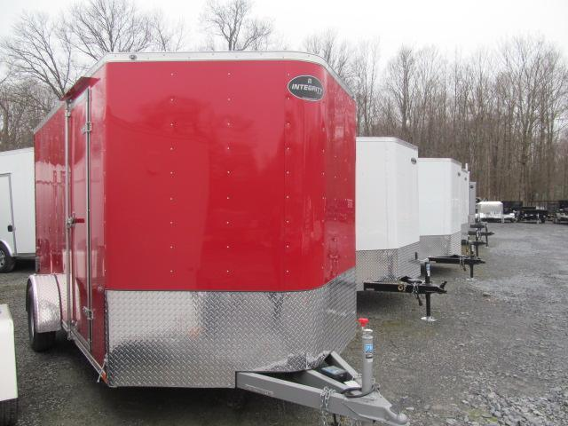 Integrity True Line 7 X 12 V Front Enclosed Cargo Trailer