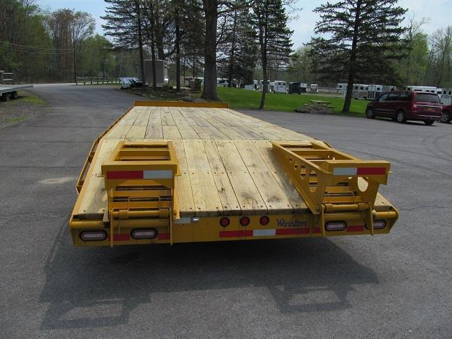 Winston 8 Ton 20 Plus 5 Ft Deckover Equipment Trailers
