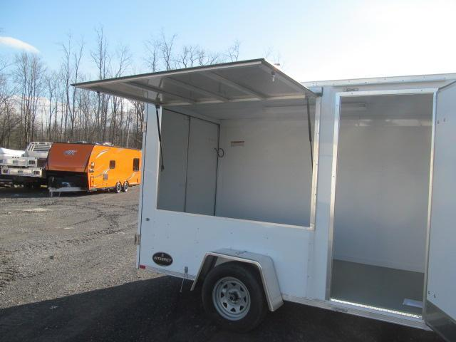 Integrity Trailers Honor Line 6 X 12 Concession Ready Enclosed Enclosed Cargo Trailer