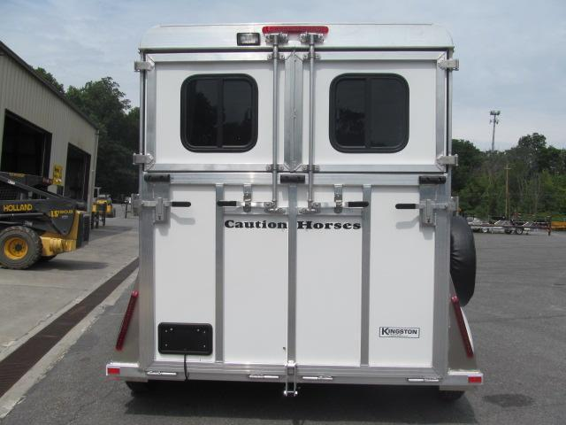 Kingston Trailers Inc. Classic Elite 2 Horse Horse Trailer
