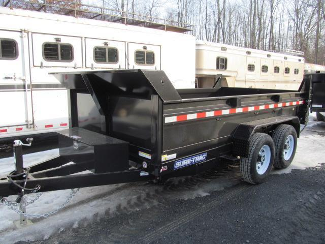 Sure-Trac 6 X 10 Low Profile Dump Trailer