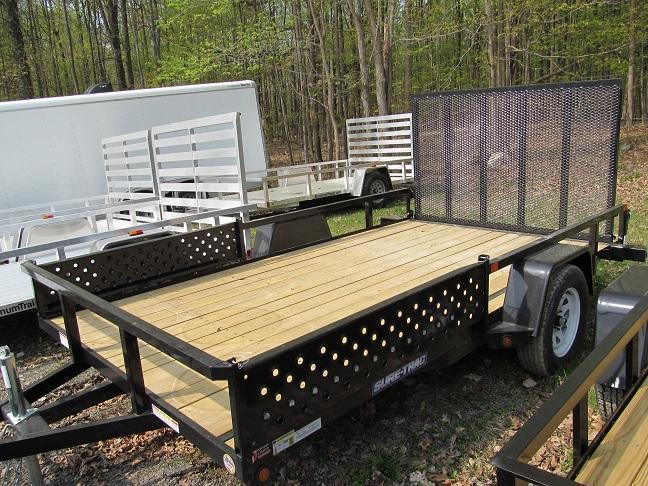Sure-Trac 7 X 12 Open ATV Utility Trailer