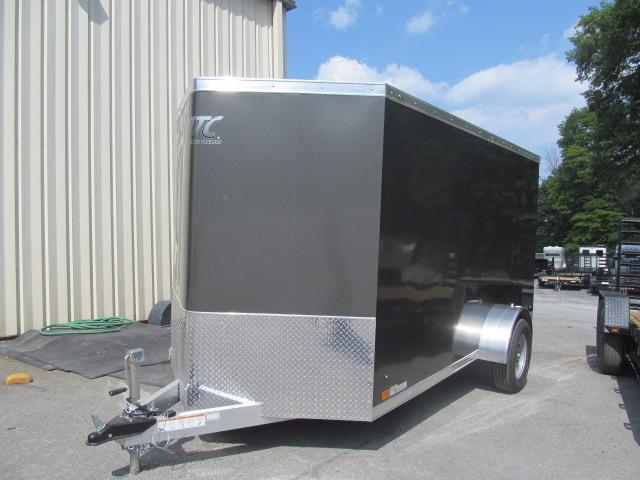 Aluminum Trailer Company 6 X 12 Wedge Front All Aluminum Enclosed Cargo Trailer