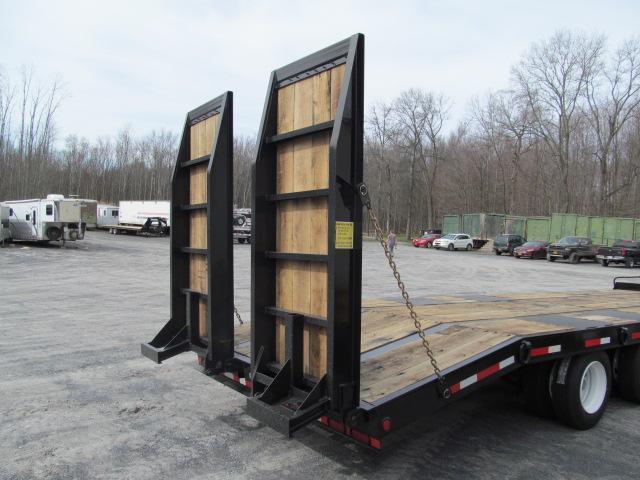 Custom Heavy Haul- 20 Ton Paver w/ Air Ramps