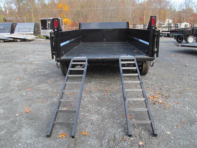 Sure-Trac 7 X 12 12K Low Profile Dump Trailer