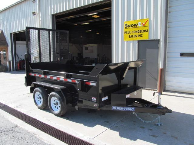 Sure-Trac 6 x 10 Low Profile Dump w/ Landscape Gate