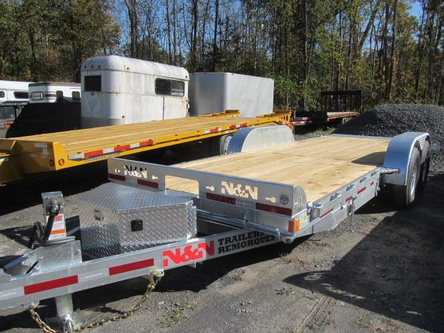 2020 N and N Trailers 18' + 4' Tilt Equipment Trailer