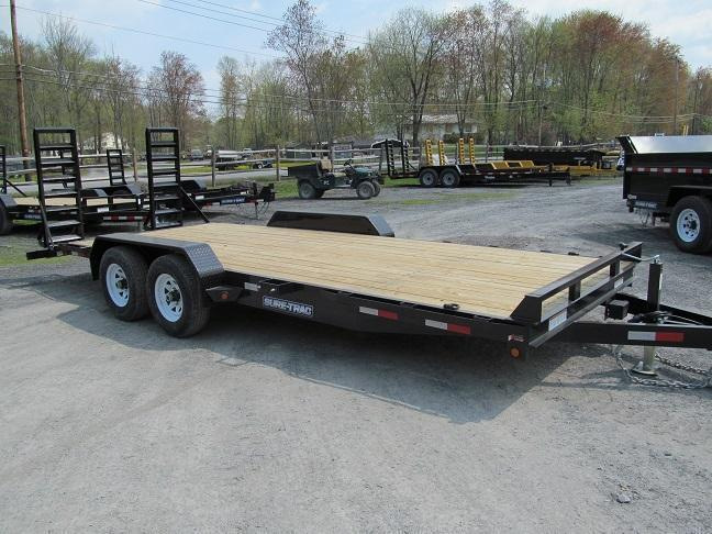 Sure-Trac 7 X 20 10K Implement Equipment Trailer