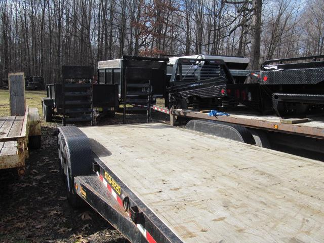 2015 Doolittle Trailer Mfg 7 X 20 14K Equipment Trailer Equipment Trailer