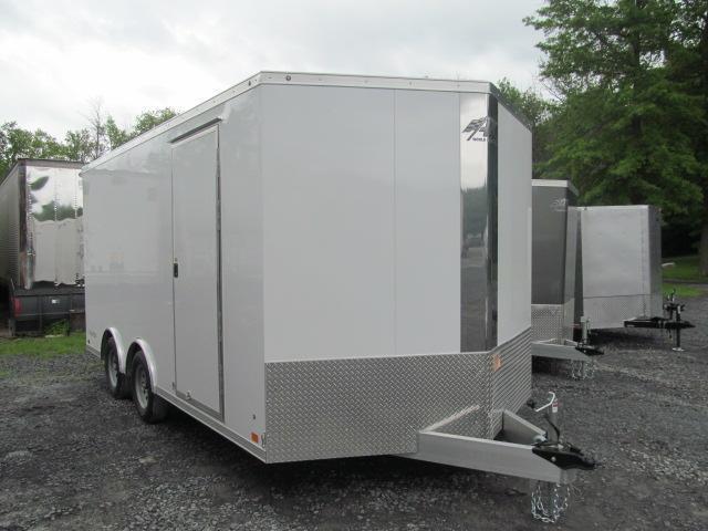 Aluminum Trailer Company 8.5 X 16 Wedge Front Raven Car Hauler