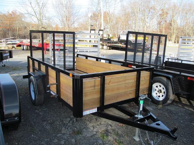Sure-Trac 5 X 10 3-Board High Side Utility Trailer