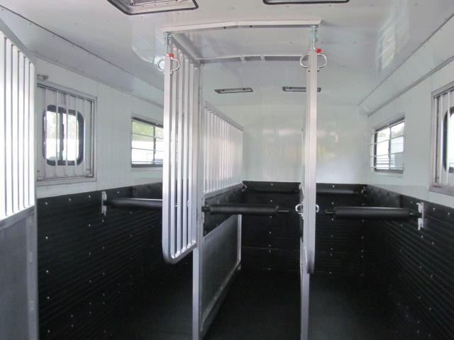 Trailers USA Inc. Patriot 6H Head to Head with Dressing Room Horse Trailer