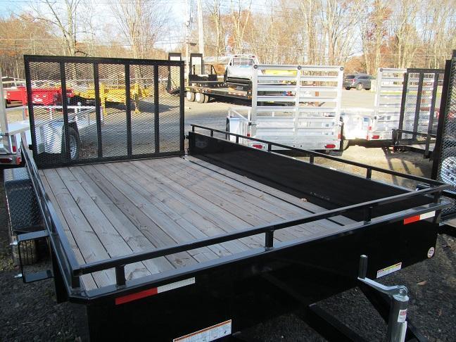 Sure-Trac 7 X 12 Steel High Side Utility Trailer