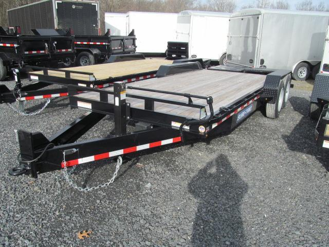 Sure-Trac 7 X 18 16K Universal Implement Trailer Equipment Trailer