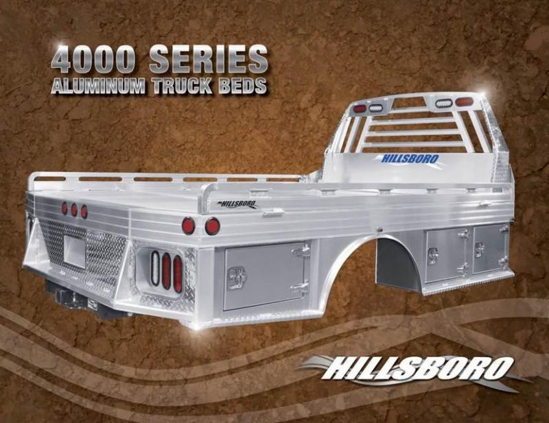 Hillsboro Industries 4000 Series Aluminum Truck Bed